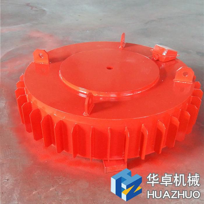 潍坊华卓机械电磁bobsport吸挖机齿实验 (4)
